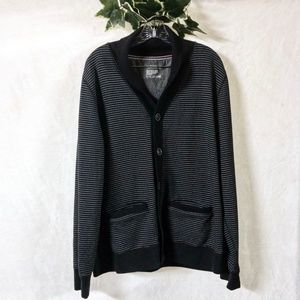 Express Cardigan Sweater with Stripes - Size XL